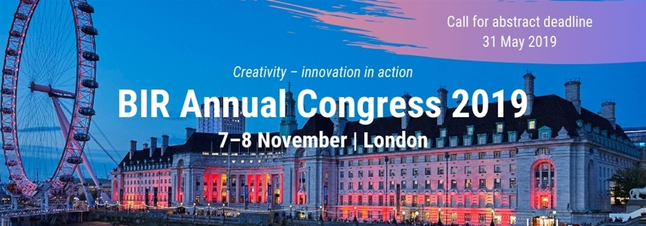 BIR Annual Congress 2019 | British Institute of Radiology